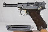 Army Mauser P.08 Luger – G Date - 9mm