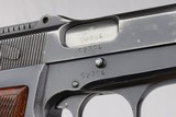 WWII Nazi Tangent FN Browning Hi Power Rig -~1941 - 9mm - 9 of 14