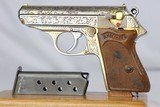 Himmler Engraved WWII Nazi Walther PPK - 7.65mm - 1941 - 4 of 19
