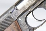 Rare, Original Engraved WWII Nazi era Walther PPK - 1932 - 7.65mm - 9 of 15