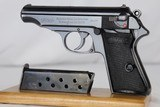 WWII Nazi Walther PP Rig - Reich's Finance - 1936 - 7.65mm - 2 of 13