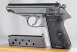 Rare WWII Nazi Police Walther PP - 1944 - 7.65mm