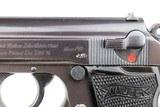 WWII Nazi Luftwaffe Walther PP - Matching Magazine - 1941 - 7.65mm - 7 of 12