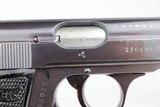 WWII Nazi Luftwaffe Walther PP - Matching Magazine - 1941 - 7.65mm - 10 of 12