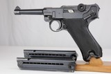 Beautiful WII Nazi Black Widow P.08 Luger Rig - 1941 - 9mm - 2 of 18