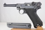 Beautiful WWII Nazi Black Widow Mauser P.08 Luger - 1941 - 9mm - 1 of 13