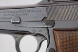 Early WWII era FN Browning Hi Power - Tangent Sight - 9mm - 6 of 11