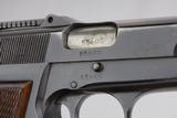 Early WWII era FN Browning Hi Power - Tangent Sight - 9mm - 9 of 11