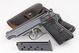 SA Walther PP Rig - Gruppe Mitte - WWII era Collectible - 7.65mm