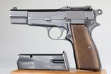 Scarce Nazi FN Browning High Power - Tangent Sight 9mm WW2 / WWII