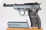 Rare Nazi Walther P.38 - 480 Code WW2 / WWII 9mm