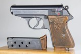 Terrific, Rare Walther PPK - Party Leader 1939 WW2 / WWII 7.65mm