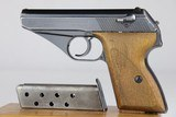 Early Army Mauser HSc 7.65mm 1942 WW2 / WWII