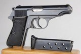 Scarce Walther PP - PDM Marked 7.65mm 1935