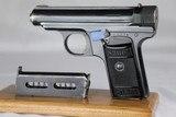 Rare Sauer Model 1926 Export 7.65mm
