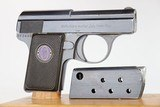 Excellent Walther Model 9 / 6.35mm 1921-24 - 3 of 8