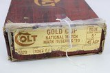 ANIB Colt MK IV Series 70 - Gold Cup National Match 1979 .45 ACP - 12 of 13