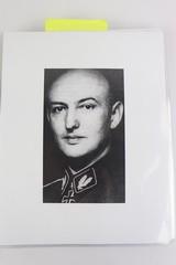 Police M1940 Steel Helmet of SS-Brigadeführer and Knights Cross Awardee Hans Plesch WW2 / WWII - 15 of 25