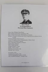 Police M1940 Steel Helmet of SS-Brigadeführer and Knights Cross Awardee Hans Plesch WW2 / WWII - 21 of 25
