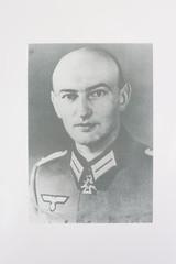 Police M1940 Steel Helmet of SS-Brigadeführer and Knights Cross Awardee Hans Plesch WW2 / WWII - 22 of 25
