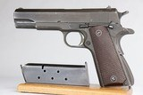 Excellent Colt 1911A1 - 1943 Mfg .45 ACP WW2 / WWII