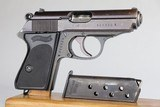 Police Walther PPK - Rarest Variation 7.65mm WW2 / WWII 1944 - 3 of 11