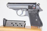 Rare Party Leader Walther PPK - Black Grip 7.65mm ~1943 WW2 / WWII