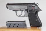 Nazi Army Walther PPK 7.65mm 1942 WW2 / WWII