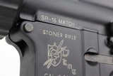 Rare Knight's Armament Stoner SR-15 Match Rifle With M4 Sniper R.A.S - 18 of 25