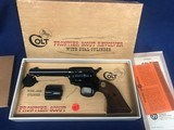 Colt Frontier Scout Dual Cylinder .22 NIB 1968