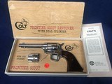 Colt Frontier Scout Dual Cylinder .22 & .22 mag Nickel
