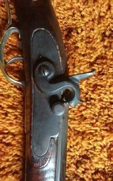 Rare Jacob Albright Antique Percussion Kentucky Muzzloading Rifle 1820 - 1840 - 4 of 17