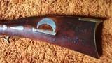 Rare Jacob Albright Antique Percussion Kentucky Muzzloading Rifle 1820 - 1840 - 7 of 17
