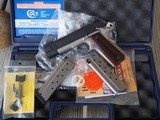 Colt Lightweight Commander .38 Super TALO Carry Pistol Light Customization Excellent