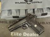 Wilson Combat Ultra Light Carry 9mm Commander, Custom order, New!