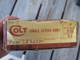"Colt Single Action Army Early Third Generation 4 3/4"" B/CCH 45 w/box! - 19 of 20"