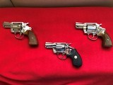 Unfired Colt Detective 38 Special Revolvers