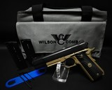 "Wilson Combat Ultralight Carry .45 ACP Black/Flat Dark Earth 5"" BBL - 1 of 9"