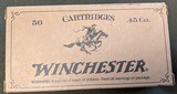 Winchester .45 Colt Cowboy Loads (200 rounds) - 1 of 4