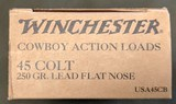 Winchester .45 Colt Cowboy Loads (200 rounds) - 2 of 4