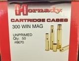 Hornady 300 WIN MAG Unprimed Cartridges (x 100)