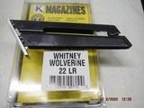 WHITNEY WOLVERINE 22 Magazine 10Rd aluminum base and follower New Magazine - 1 of 8