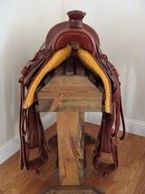 Custom 1880's Style Western Saddle