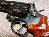 Smith & Wesson Model 586 Silver Damasce - 7 of 15