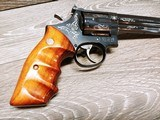 Smith & Wesson Model 586 Silver Damasce - 3 of 15