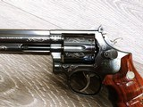 Smith & Wesson Model 586 Silver Damasce - 8 of 15
