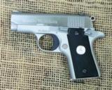 COLT Mustang Pocketlite Semi Auto Pistol, 380 ACP Cal.
