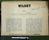 WILDEY Semi-Auto Pistol, 45 Win Mag. Cal - 13 of 15