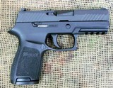 SIG SAUER Model P320c Semi Auto Pistol, 9mm Cal