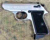 WALTHER Model PPK/S Pistol 22LR Cal, German Manuf
